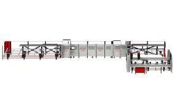 Kaban Makina FA-1030 PVC Profil İşleme Kesim ve Destek Sacı Vidalama Merkezi