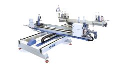 Özgenç Makina OMRM 122 Otomatik Dört Köşe PVC Profil Kaynak Makinası
