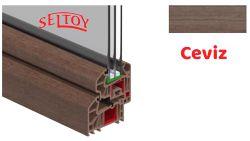 Lamine PVC Profiller Ceviz