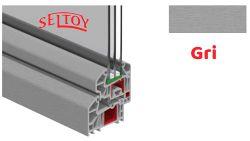 Lamine PVC Profiller Gri