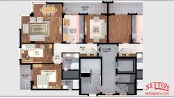 Perihan Çelik Apartmanı-seltoy-insaat-cigli-daire-plani-15
