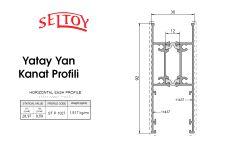 ST-91 Sürme Sistemi-Yatay-Yan-Kanat-Profili