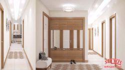 Smyrna Park Evleri -smyrna-park-evleri-3plus1-daire2-koridor-13