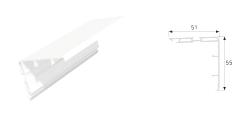 Sürme Contalı Kapı Kanat Kapama Profili
