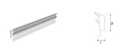 Yalıtımlı Sürme 20 mm Çift Cam Çıta Profili